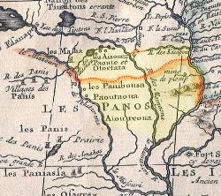 Old Iowa Map.About The Iowa Ancient Trails Project Http Uiowacar Com Osaglotrails